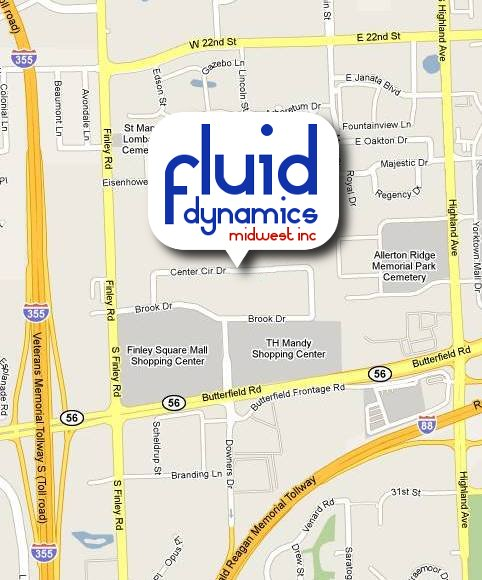 Fluid Dynamics Midwest Inc. Map